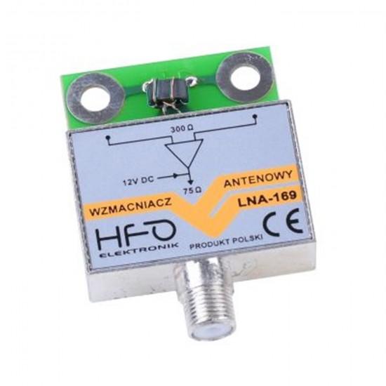 Anténny zosilňovač LNA-169 tienený 25dB HFO