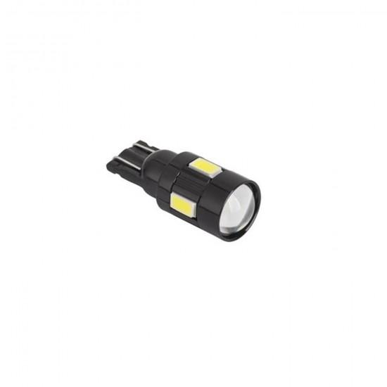 Autožiarovka LED (Canbus) T10 6SMD 5730 12V