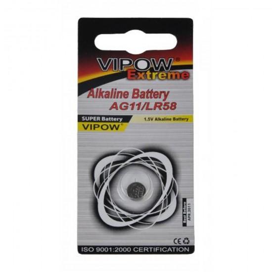 Bateria AG11/LR58 (1ks) VIPOW EXTREME