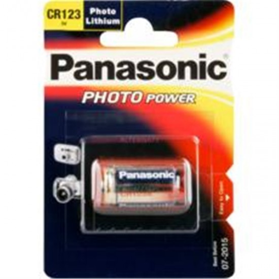 Bateria CR123AL/1BP  3V PANASONIC