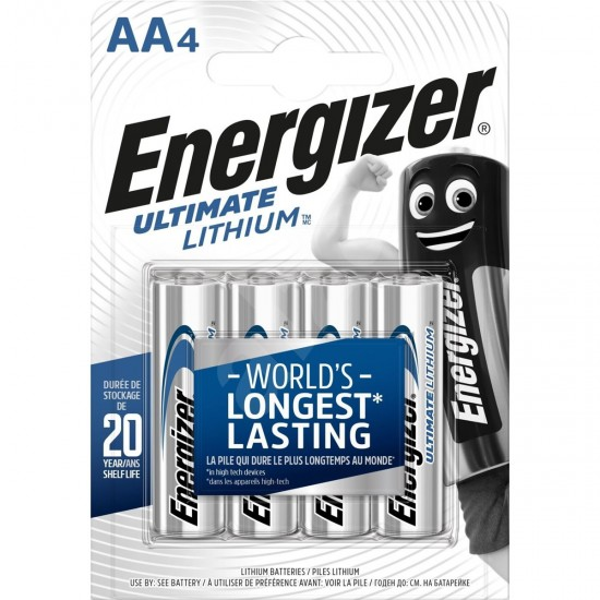 Batéria ENERGIZER Ultimate LITHIUM AA (LR06) (4ks)