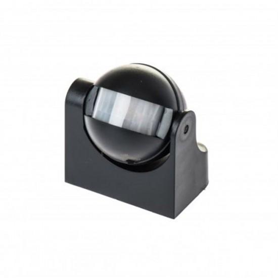 Detektor pohybu LX39 čierny 180st.