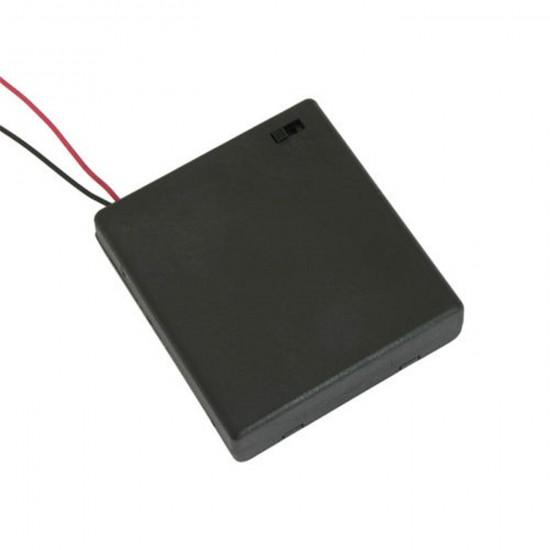 Držiak batérie + vypínač R6x4 IIII