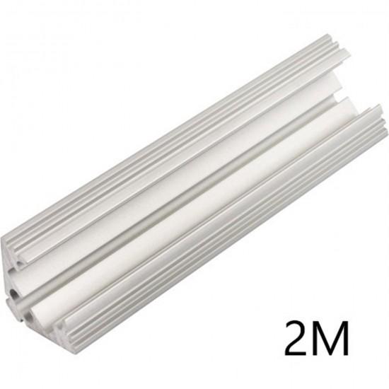 Hliníkový profil rohový P3NA k LED pásom 2m