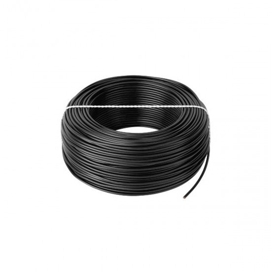 Kábel CYA 1x0,5 čierny (H05V-K) lanko (100m)