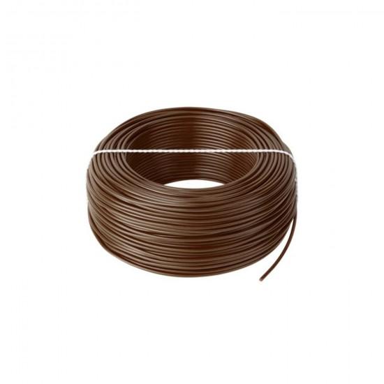 Kábel CYA 1x0,75 hnedý (H05V-K) lanko (100m)