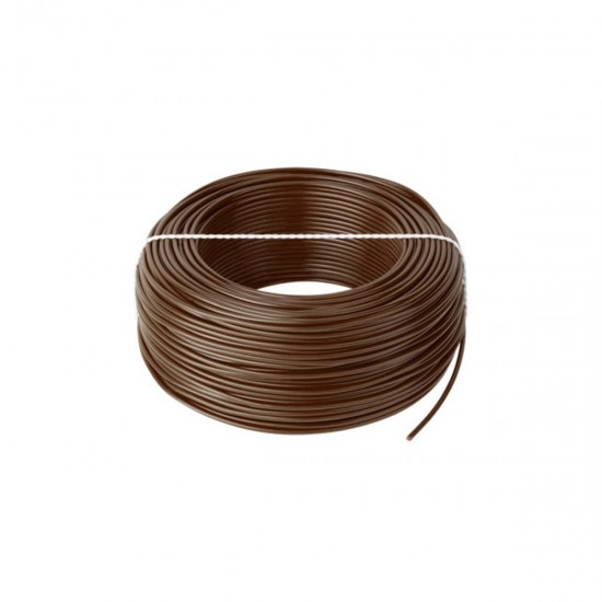 Kábel CYA 1x1,0 hnedý (H05V-K) lanko (100m)