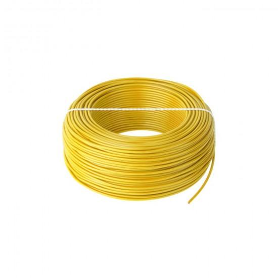 Kábel CYA 1x1,0 žltý (H05V-K) lanko (100m)