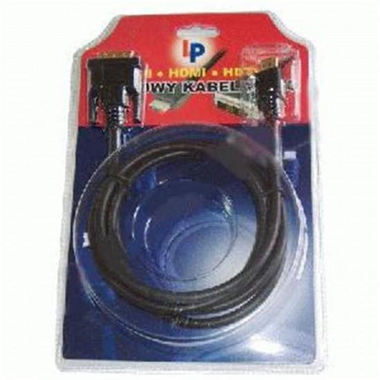 Kábel DVI - D-Sub 15PIN, dĺžka 3m