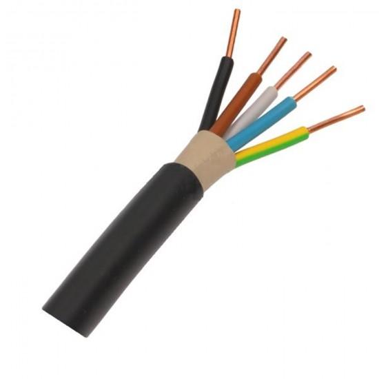 Kábel elek.CYKY 5x1,5 450/750V-100m okrúhly