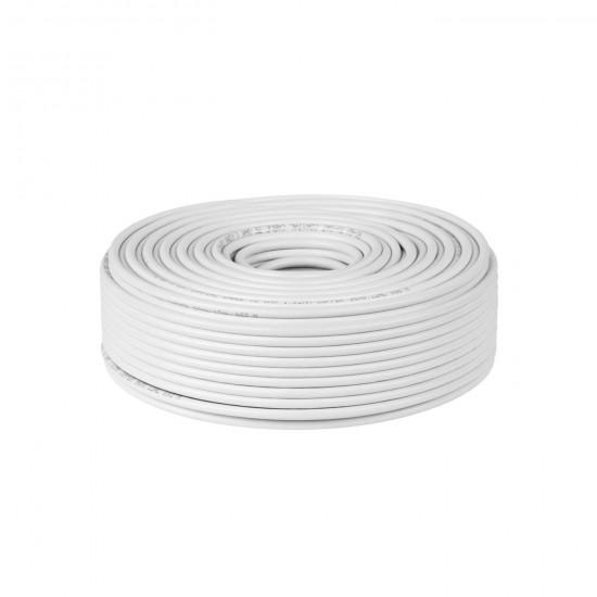 Kábel koaxiálny RG-6U CU 75ohm (100m)