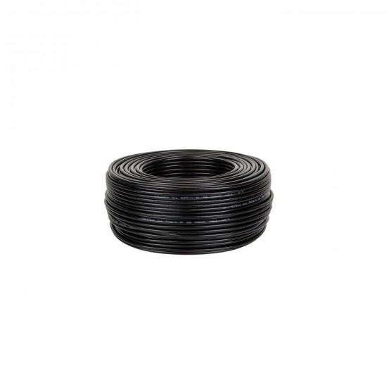 Kábel koaxiálny RG58U 50ohm- Č(100m)