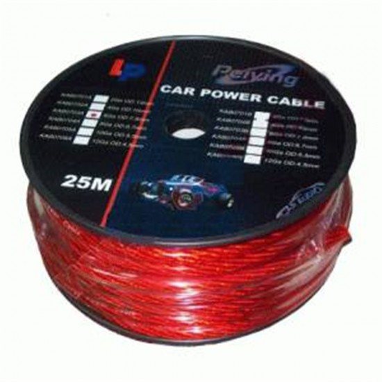 Kábel napájací auto 12mm (25m) CU