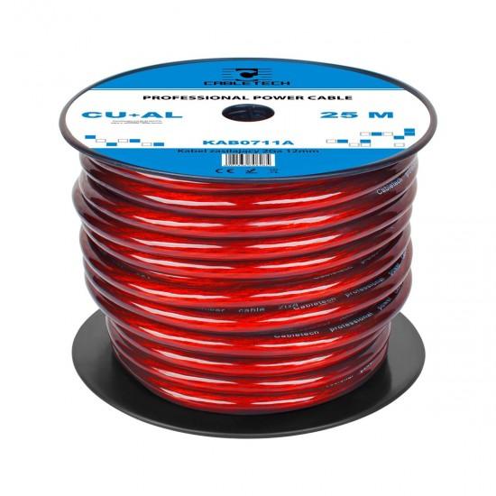 Kábel napájací auto 12mm  (25m)  CU+Al