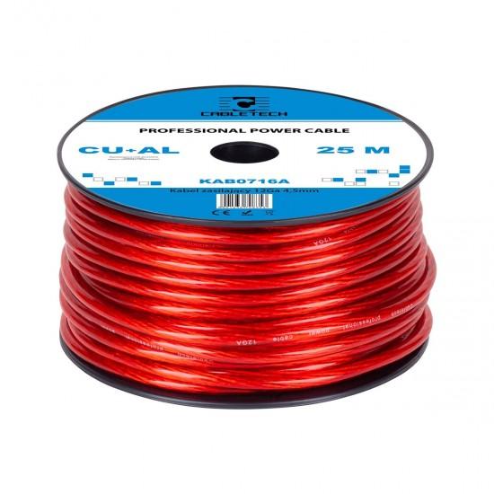 Kábel napájací auto 4,5mm  (25m)  CU+Al