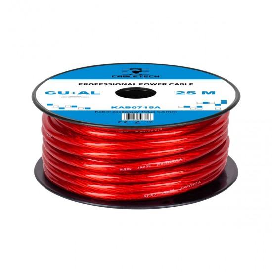 Kábel napájací auto 5,5mm  (25m)  CU+Al