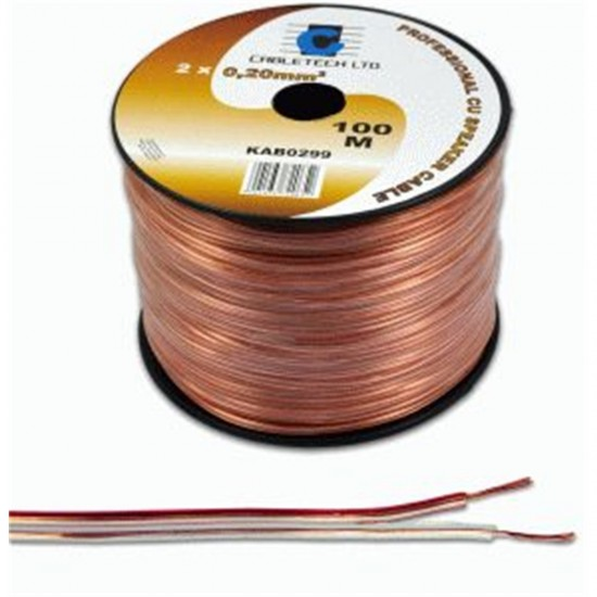 Kábel REPRO. 2x 0,20mm CCA (100m)