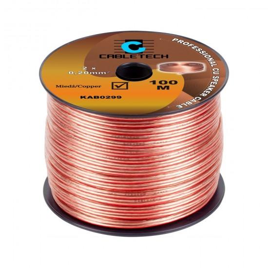 Kábel REPRO. 2x 0,20mm CU(100m)