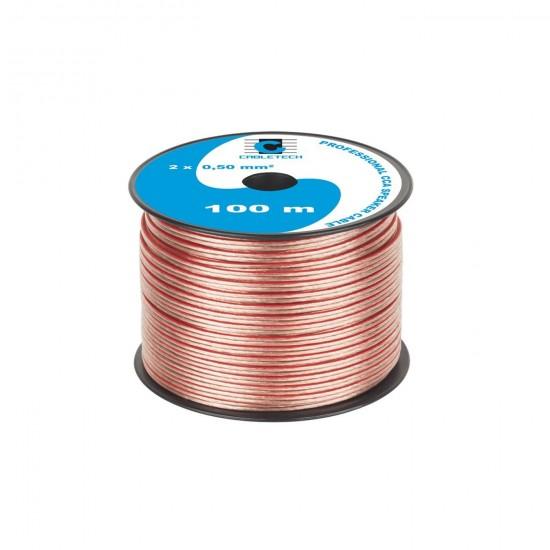 Kábel REPRO. 2x 0,50mm CCA (100m)