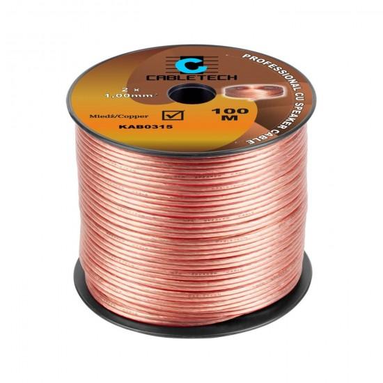 Kábel REPRO. 2x 1,0mm CU(100m)