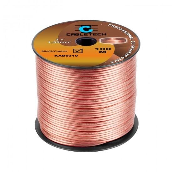 Kábel REPRO. 2x 1,5mm CU(100m)