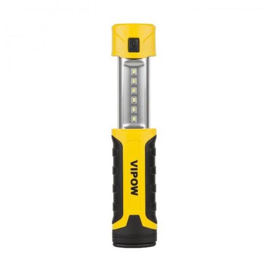 LED lampa 6+1 SMD LED+sieť.+autonabíjačka
