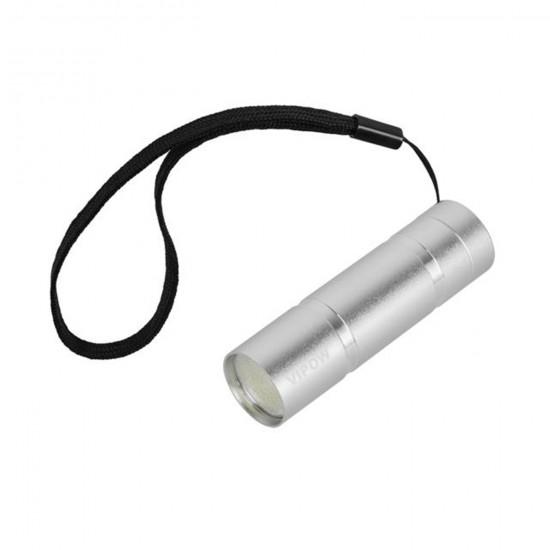 LED svietidlo - ručné 1W (COB) hlinikové