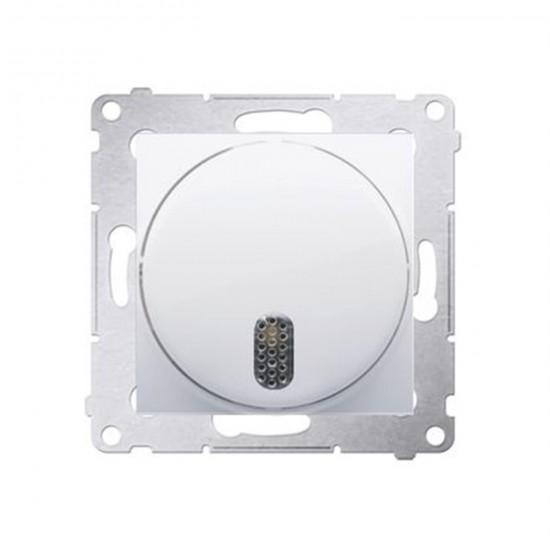 Zvonček elektrický Simon 54 premium modul biely